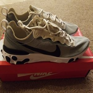 Nike React Element 55 LIGHT OREWOOD GREY BLACK